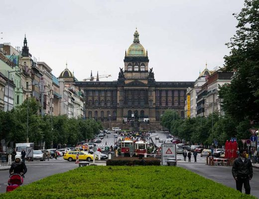 Wenceslas Square - Prague