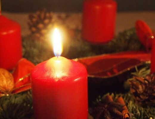 Advent Wreath with Candles