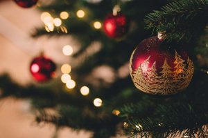 Christmas, christmas tree, bauble and lights HD photo by freestocks.org (@freestocks) on Unsplash