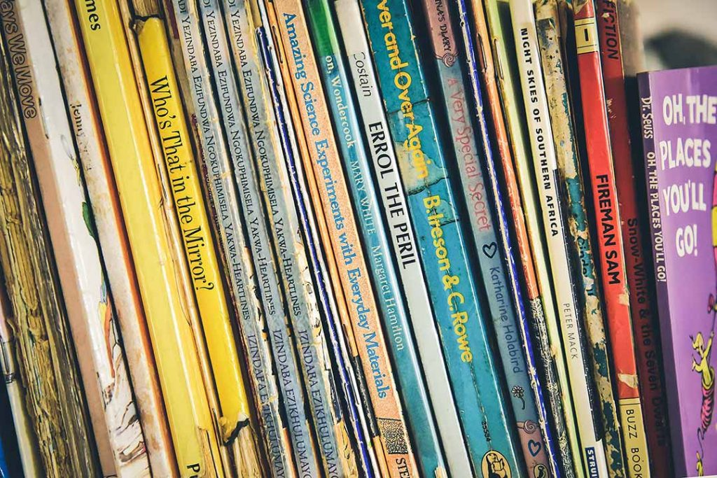 English library books for kids