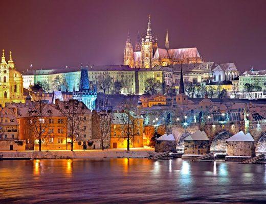 Prague Winter Snow