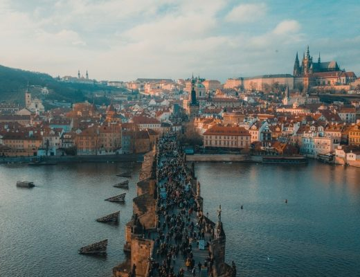 Charles Bridge and Prague Castle