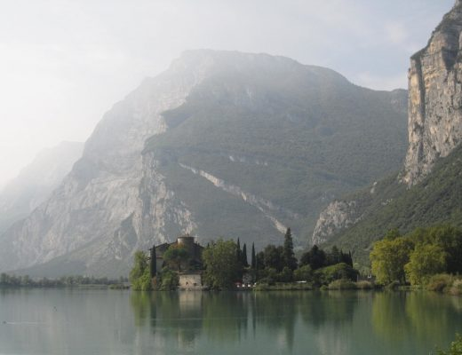 view of Garda Lake